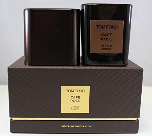 Price comparison product image Tom Ford Cafe Rose Candle Bougie Height 2.25 In. / 5.7 CM