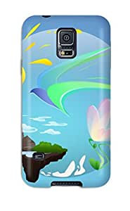 Fashion Protective Nature Case Cover For Galaxy S5