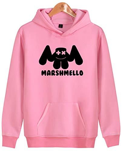 Capuche Marshmello rose Unisexe Sweat Mode Seraphy Hiver hop Hoodie Printemps À Sport Hip Automne 3411 Haut De Électroacoustique P5d4TwTq