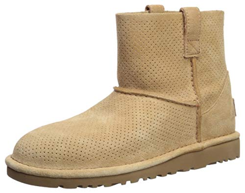 UGG Womens Classic Unlined Mini Perforated Spring Boot