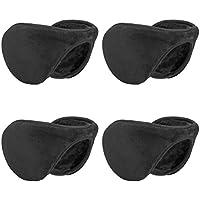 Metog Winter Outdoor Earmuffs Fleece Ear Warmer 4 Pack