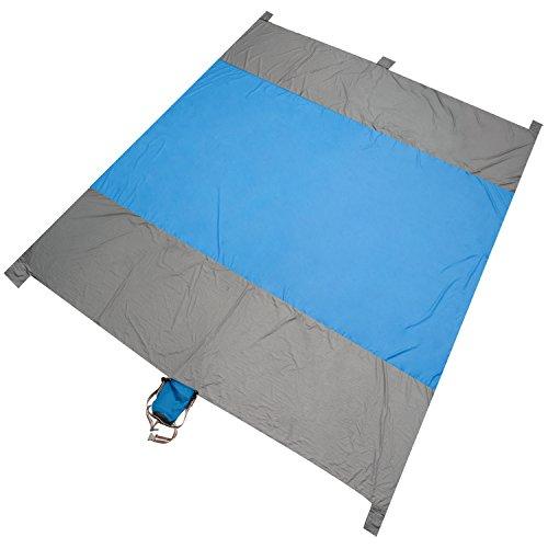 Beach Blanket Tempest Musical: Sand Free Beach Blanket,100% 400T Gird Ripstop Nylon