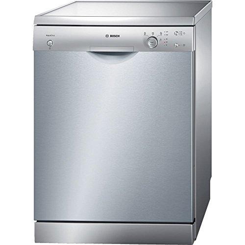 Bosch SMS40E38EU lavavajilla – Lavavajillas (Independiente, Acero inoxidable, Frío/Caliente, 52 Db, A, 195 min)