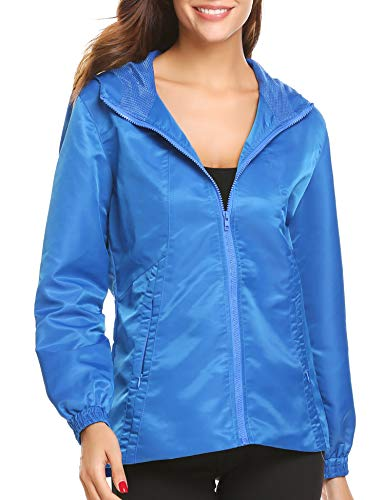 SUNAELIA Rain Jacket Raincoat