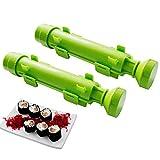 Sushi Bazooka,DIY Sushi Making Kit Sushi Roller Make Easy for Home 2- pack by Winnes
