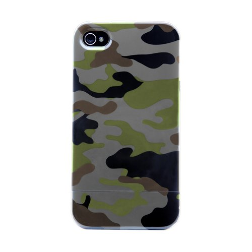 Agent18 Shield Limited for iPhone 4 - Green Camouflage - AT&T iPhone Only Agent 18 Shock Shield
