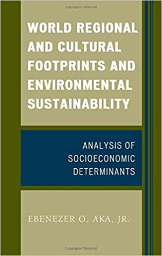World Regional and Cultural Footprints and Environmental Sustainability: Analysis of Socioeconomic Determinants