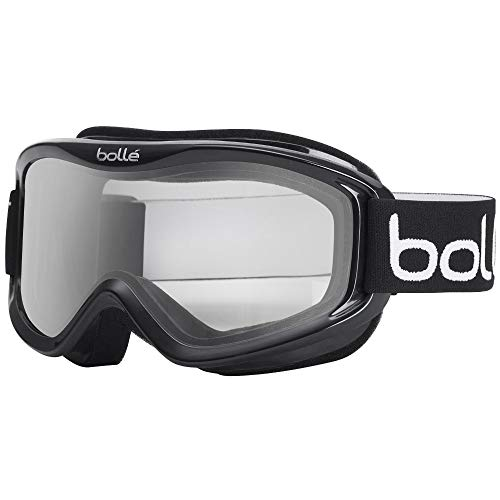 Bolle Mojo Snow Goggles (Shiny Black, Clear)