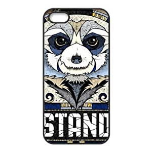 RebeccaMEI DIY Cases Wonderful Designer Bizarre and Bold Bear Apple Iphone 5 and 5s TPU Case Cover Personalized Phone Cases Covers