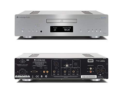 Cambridge Audio Azur 851C Upsampling DAC, CD Player & Preamplifier - Silver