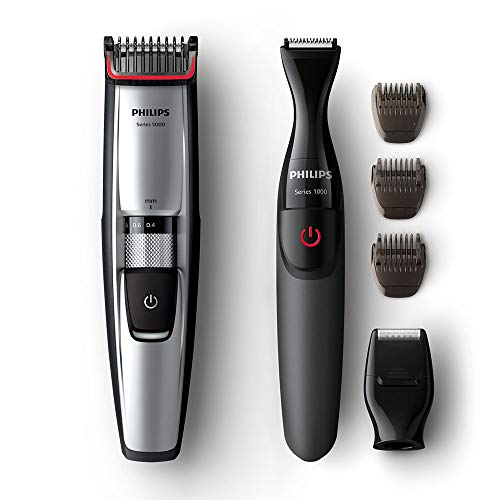 Philips Series 5000 Beard & Stubble Trimmer and Multi Groom