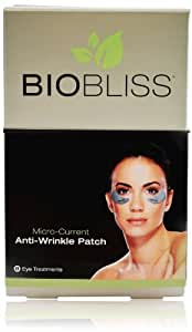 Biobliss 8 Micro-Current Eye Patch Refill Treatments-8 count