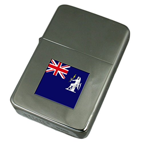 Engraved Lighter Global Marine Systems Civil England Flag by Select Gifts