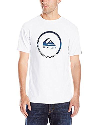 - TTEOGPE Quiksilver Men39;s Active Logo T-Shirt XXX-Large