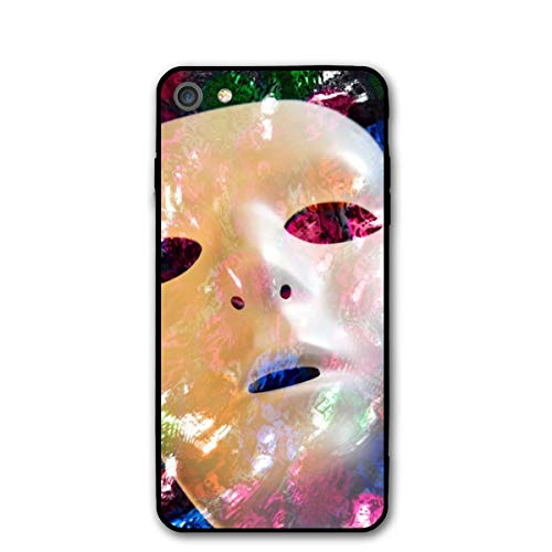iPhone 8 Case/iPhone 7 Case Two Faces Masks Sturdy Phone Cover Cases Shockproof Protective ()
