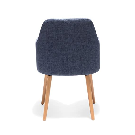 Porthos Home Sarlo Dining Chair, Blue - VERSATILE design Weight capacity: 265 lbs Seat Height:17.72 - kitchen-dining-room-furniture, kitchen-dining-room, kitchen-dining-room-chairs - 41aCJ%2Bk%2Bd5L. SS570  -