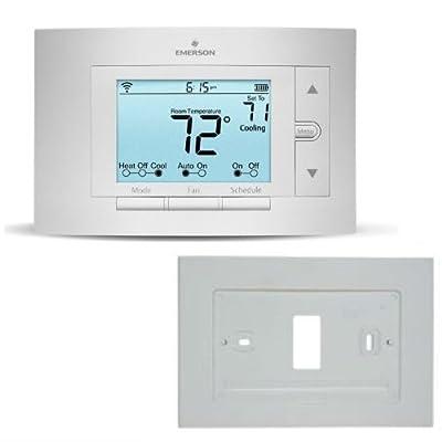 Emerson Sensi Wi-Fi Thermostat w/ White Rodgers Wallplate - 1F86U-42WF