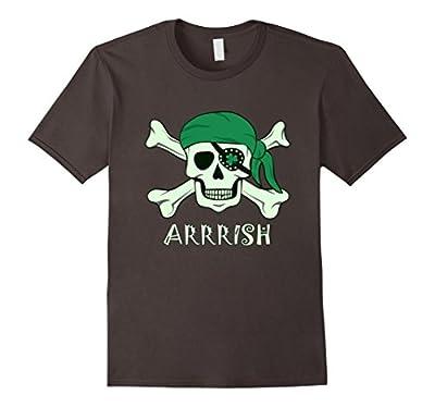 Arrish Irish Pirate St Patricks Day Shirt- Funny Irish Shirt