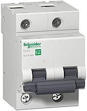 Disjuntor Easy9 2p 70a Curva C 4.5ka 230 Easy9 Schneider Electric Branco