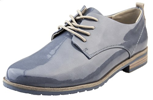 Up Pizzo Brogue Estate Tozzi Donna Denim Marco Ecopelle Scarpe OqpCCw