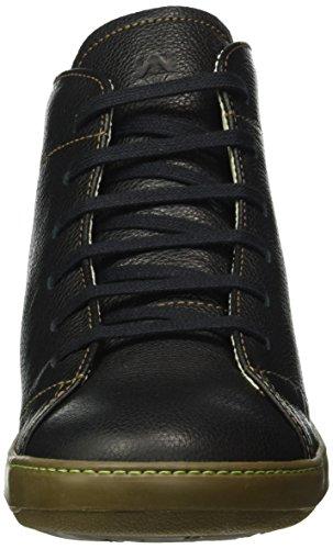 El Naturalista N212 Soft Grain Meteo, Bottes Classiques Homme, Noir (Black), 43 EU