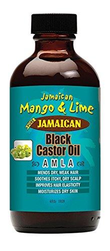 Jamaican Mango and Lime Black Castor Oil, Amla, 4 Ounce (...