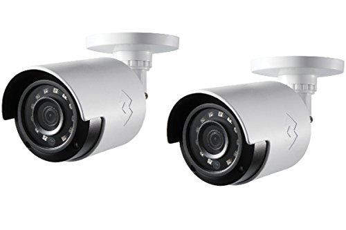 - Lorex LBV2531W 1080p HD Analog Bullet Security Camera 2-Pack