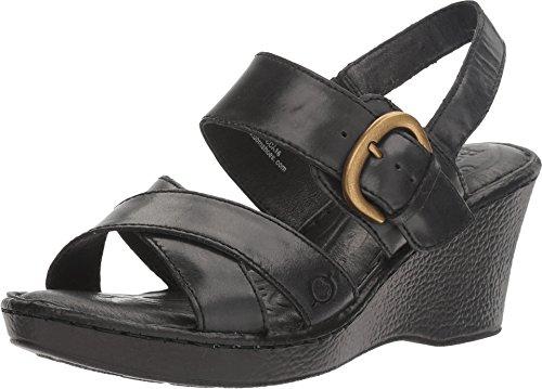 Born Women's Mirabella Black Sandal - Born Black Shoes Shopping Results