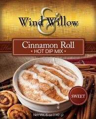 Caramel Cinnamon Rolls (Wind & Willow Cinnamon Roll Hot Dip Mix)