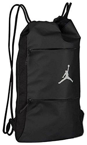 Nike Air Jordan Jumpman Alias Gym Sack (Black/Reflective Silver)