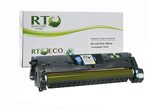 Series Color 2500 Printer (Renewable Toner 121A Compatible Toner Cartridge Replacement HP C9702A for HP Color LaserJet 1500, 2500, 2550, 2800, 2820, 2840 Series (Yellow))