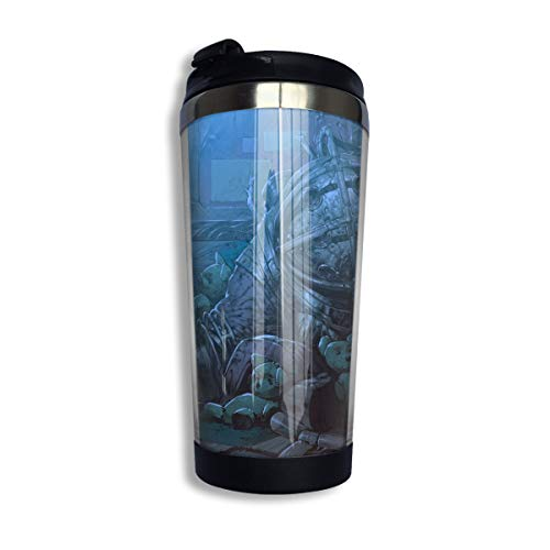 Oz Tin 20 One - Grace Cyh Bioshock Wallpaper Stainless Steel Coffee Cup/Accompanying Cup/Mug/Coffee Cup Black One Size