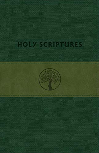 Life Of Tree Bible - TLV Personal Size Giant Print Reference, Holy Scriptures, Grove/Olive LeatherTouch