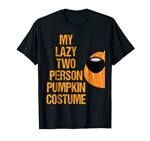 Cool Pumpkin 2 Matching Couple Costume Funny Halloween