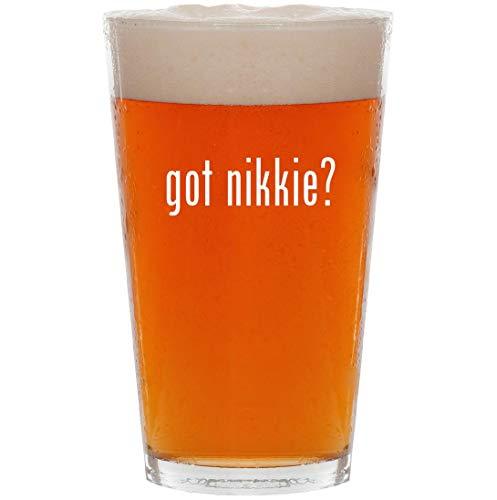 got nikkie? - 16oz All Purpose Pint Beer Glass