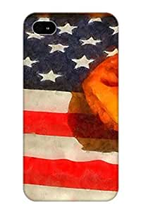 Rightcorner Bgbayl-2788-YLdgf Case For Iphone 4/4s With Nice Baseball An American Pastime Appearance