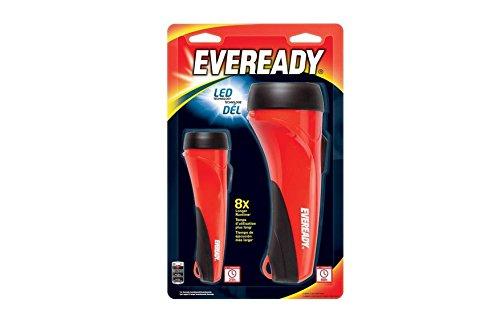 Eveready 2AA / 2D LED Flashlight Combo Pack