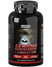 Ecdysterone Creatine Capsules hoog gedoseerd + veganistisch - 250mg ß-Ecdysteron (95% Cyanotis Arachnoideae extract (beter dan spinazie)) + 3000mg creatine per dagdosis
