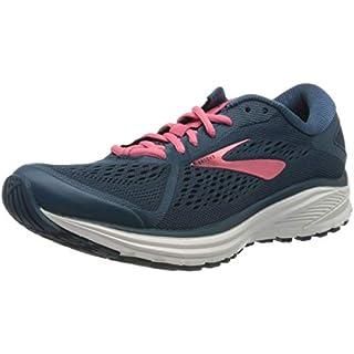 Brooks Women's Aduro 6 Running Shoes, Majolica/Pink/White, 4.5 UK (37.5 EU)