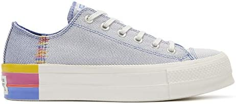 Converse Chuck Taylor All Star Lift Rainbow Womens Blue Ox