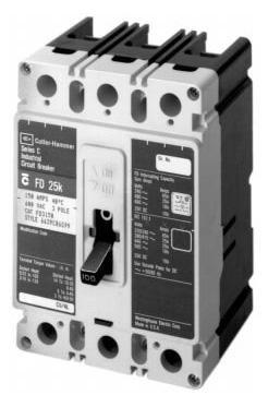 Cutler 3 Hammer Phase Hammer - New Eaton Cutler-Hammer HFD3080 Circuit Breaker 3 Pole 80A 600V 65kA HFD