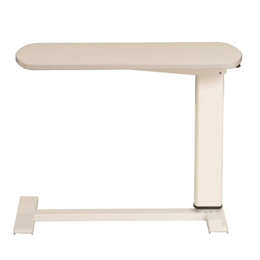 AHEART ベッドサイドテーブル 昇降 テーブル ベッド用 キャスター付き 医療 介護 施設 SI 526 ホワイト B07GXPSDHZ  ホワイト