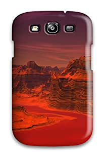 Premium Protection Surface Of Mars Case Cover For Galaxy S3- Retail Packaging