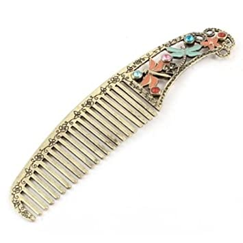 2pcs Womens Girl Bohemian Gemstone Droplet Triangle Dangle Hair Fork Pin