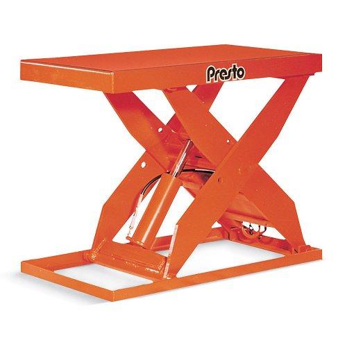 issor Lift Tables - 1-Phase, 115-Volt Motor - 1500-Lb. Capacity - Orange (Presto Lift Tables)