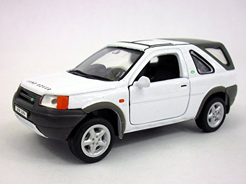 Freelander Body Parts (Land Rover Freelander 1/32 Scale Diecast Metal Car Model - WHITE)
