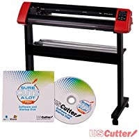 31.5-inch USCutter LaserPoint II Vinyl Cutter - Design & Contour Cut (Recommended for Mac)