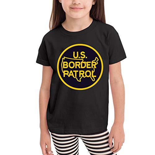 United States Border Patrol Children's T Shirt Baby Boys Girls Tee Infant Toddler T-Shirt Border Patrol T-shirt Tee Top
