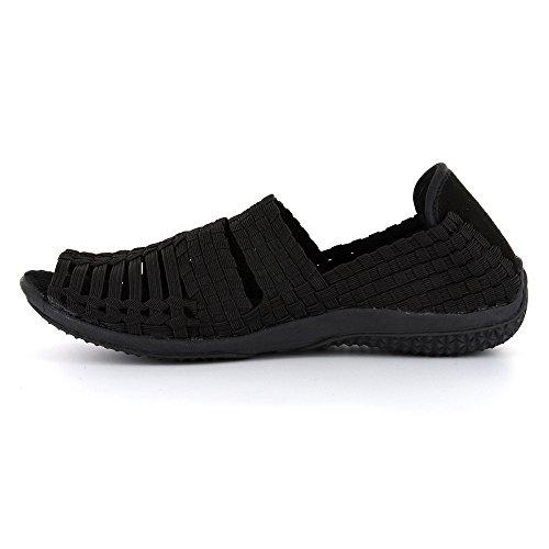 Corkys Float Mujeres Sandal Black
