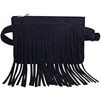 JUMENG Popular Waist Bag for Women Shopping Tassel Belt Christmas' Present